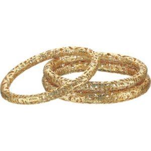 Kendra Scott Lucca Gold Bangles - Set of 3